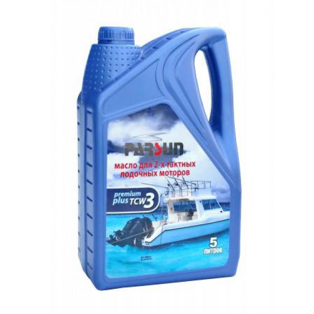 Моторное масло PARSUN 2-х тактное TC-W3 Premium Plus, 5 л