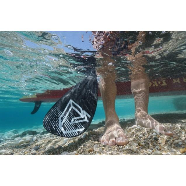 Весло для iSUP SPORTSIII, 175-220 см, лопасть 40х20 см, алюминий, Aqua Marina, B0303012