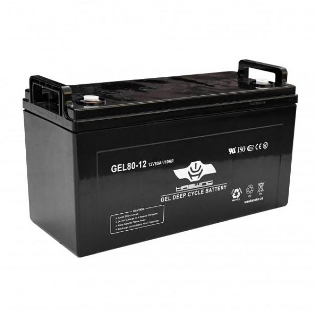 Электромотор Haswing Osapian (E) 30Lbs + аккумулятор гель Haswing 80Ah