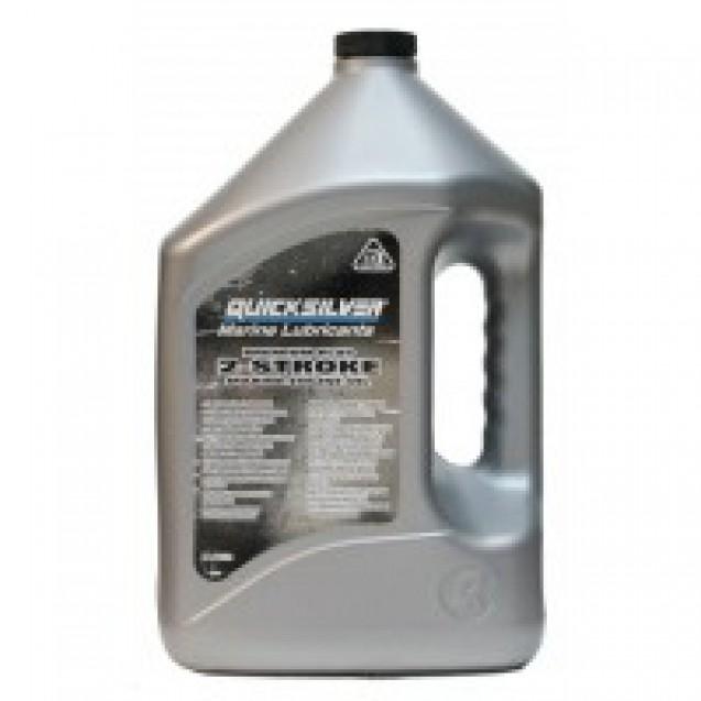 Моторное масло Quicksilver TC-W3 Premium Plus для 2-х тактных двигателей, 4 л