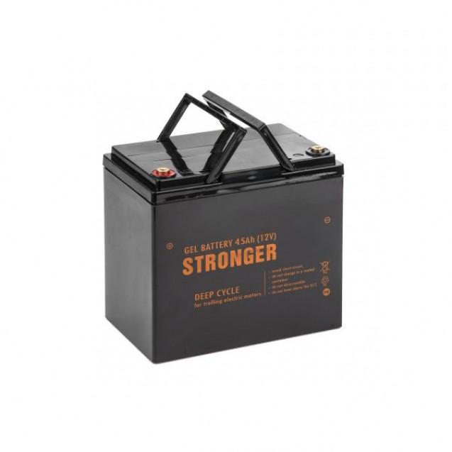 Электромотор Haswing W-20 20lbs + аккумулятор гель Stronger 45Ah